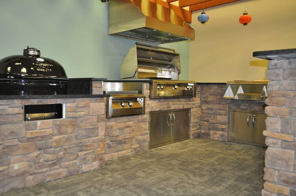 Friedman'S Appliances Outdoor Kitchen Display | Friedman'S Ideas