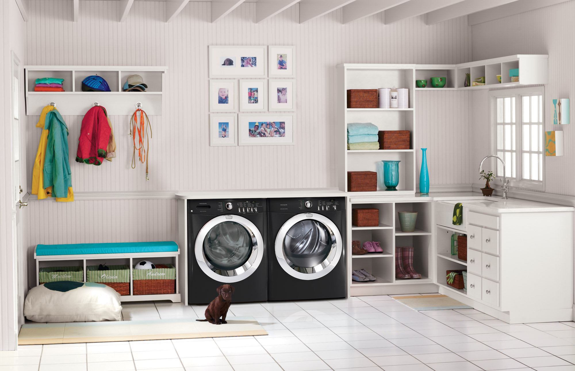 Easy Load Washers and Dryers