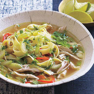 ... soup. Add new flavor to an old favorite with this Asian Chicken Noodle