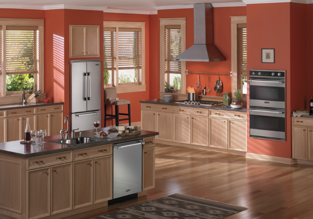 Viking kitchen appliances offer endless design choices for Viking kitchen designs
