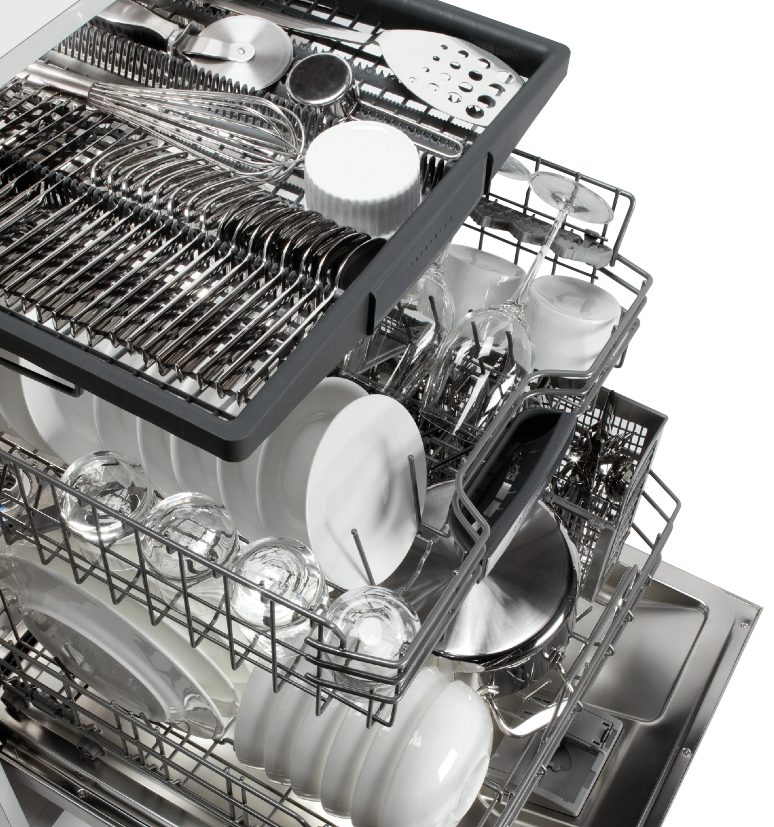 Discover The Benefits Of A Third Rack Dishwasher