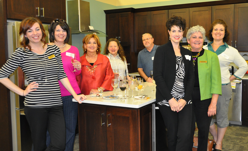 The Kitchen Hosts friedman's hosts anniversary event for area designers | friedman's