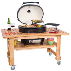 Primo Oval Grill with Cart