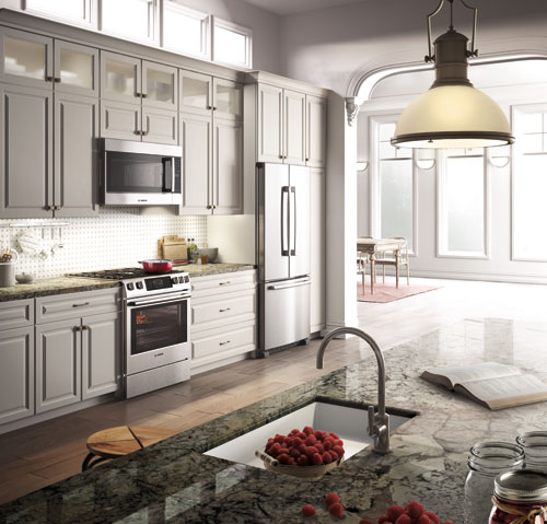Design a beautiful energy efficient kitchen with bosch friedman 39 s ideas and innovations Energy efficient kitchen design