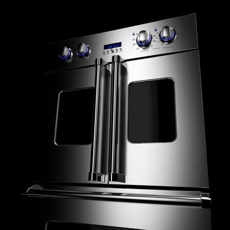 A French Door Double Oven that Makes Cooking Easier