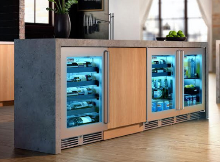 Undercounter Refrigeration with a Slim Profile