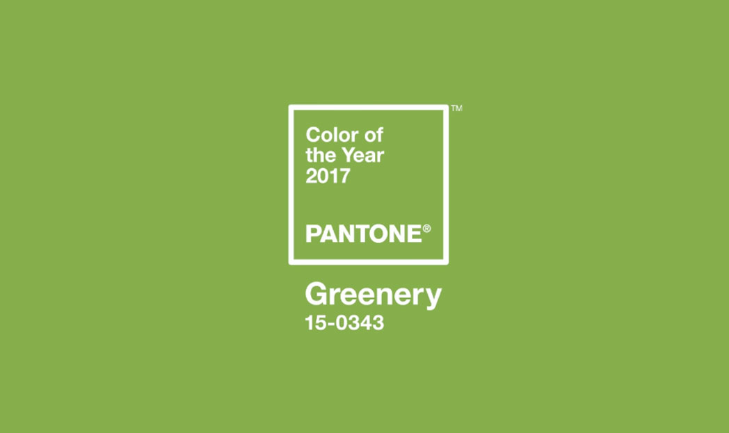 Pantone's Color of the Year for 2017: Greenery