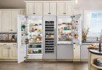 Thermador Open Refrigerator