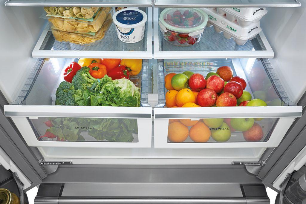 Frigidaire Pro refrigerator storage