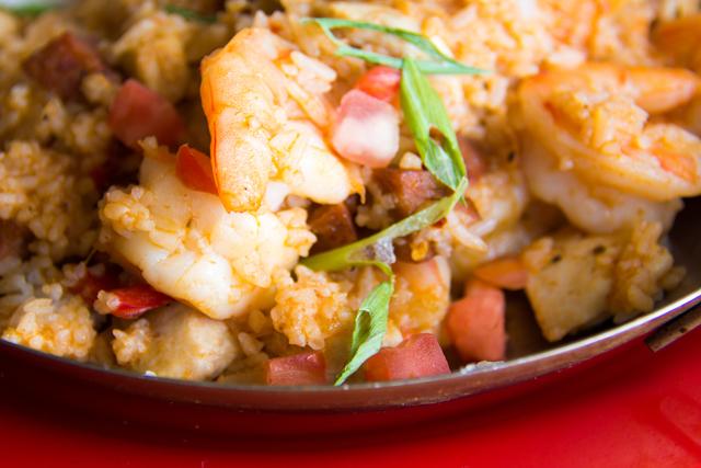 Chicken and Shrimp Jambalaya