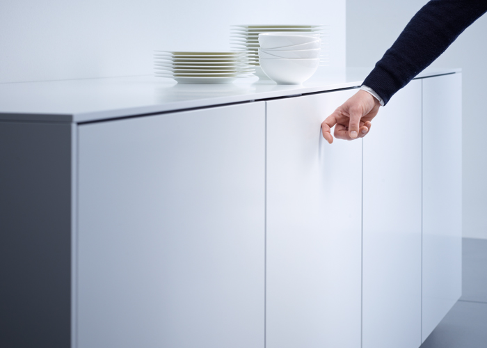 Miele Knock2Open dishwasher