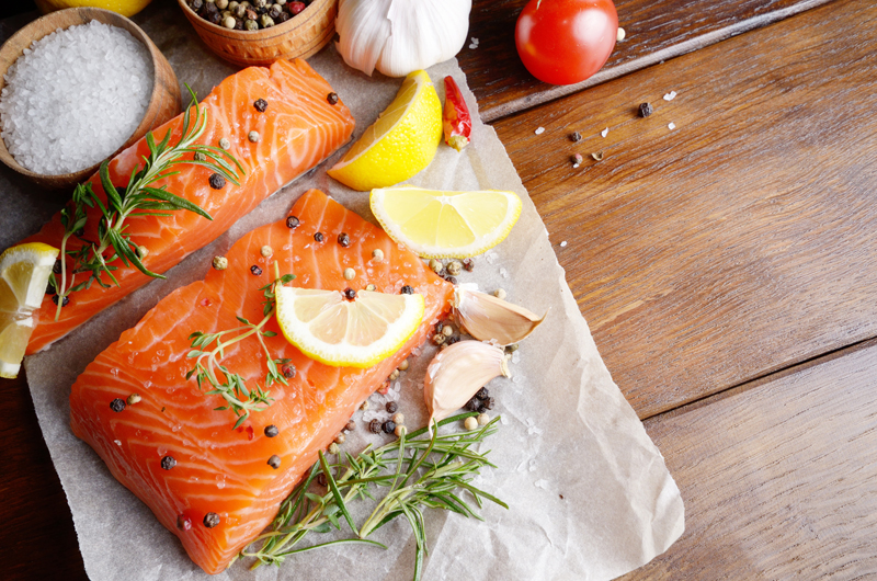 Herb and Butter Seared Salmon