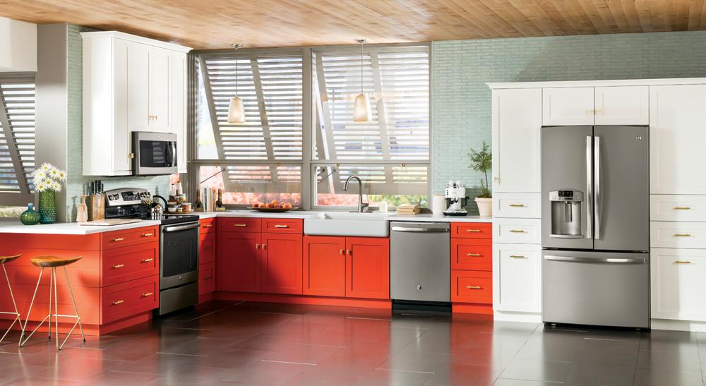 GE Profile Slate Kitchen