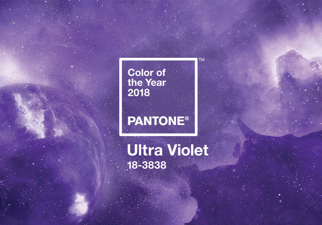 pantone 2018 color ultra violet