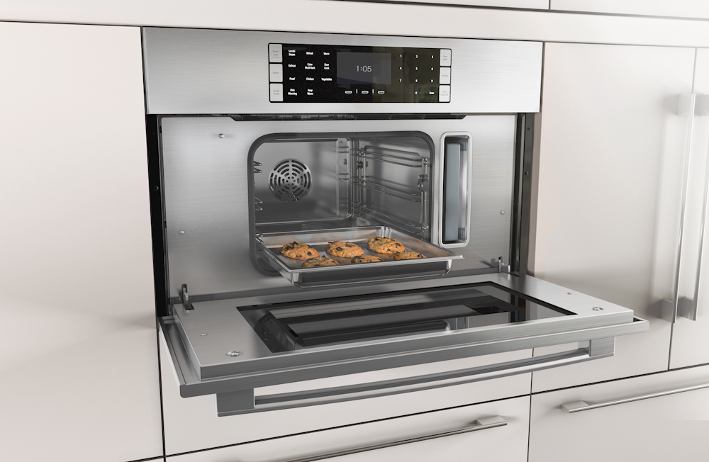 Cookies in a Bosch Benchmark Steam Oven