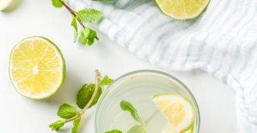 Mint Citrus Water