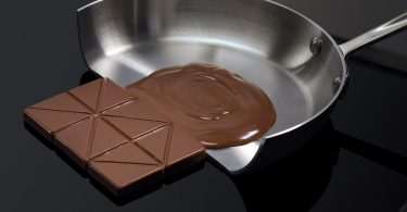Chocolate feature on Electrolux induction cooktop