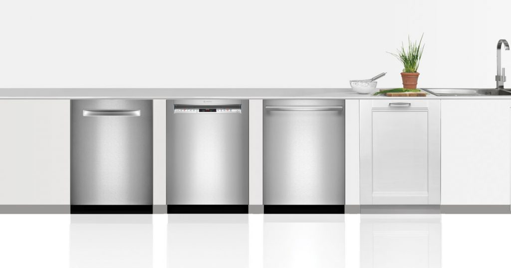 Four Bosch dishwashers