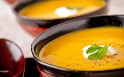 Butternut Squash Soup with Sherry