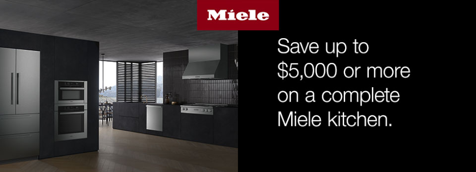 Miele 2019 Kitchen Package Savings