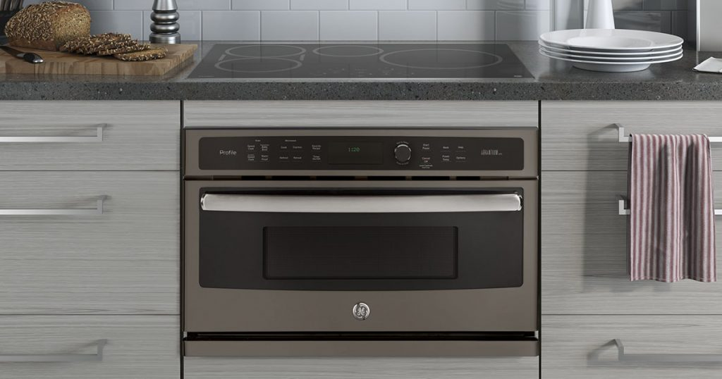 GE Profile wall oven with Advantium