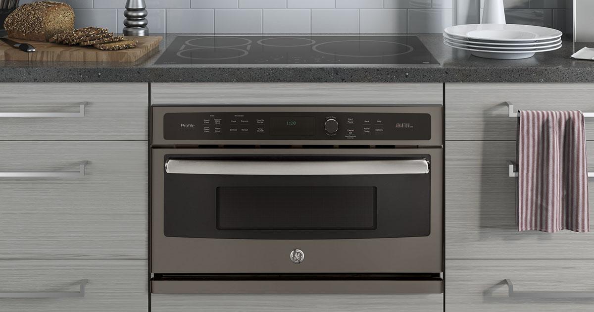 GE Profile wall oven with Advantium