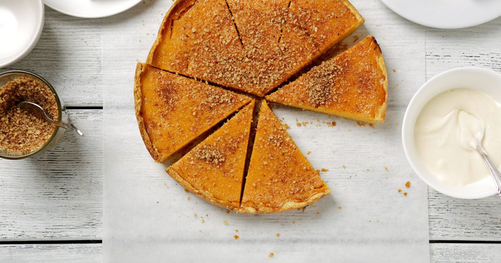 sweet pumpkin tart