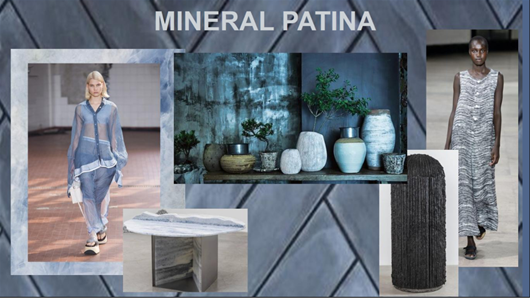 Design Trends 2020 Mineral Patina