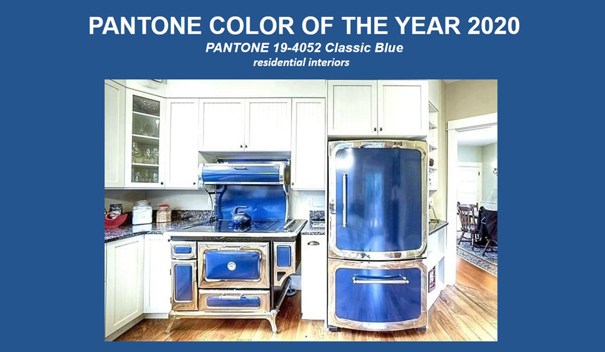 Pantone Color of the Year for 2020 is Classic Blue