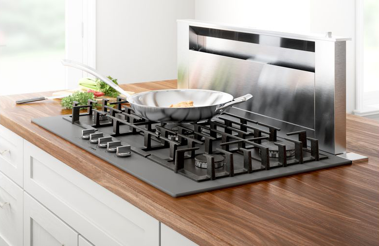 Bosch gas cooktops with FlameSelect