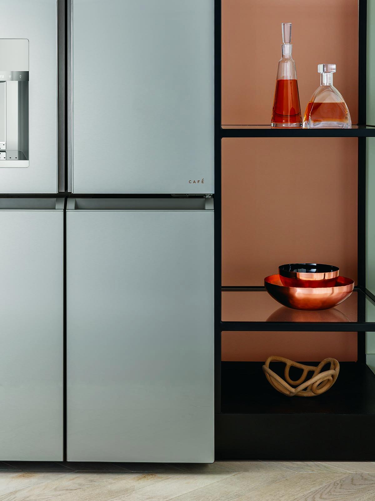 Cafe Quad-Door Refrigerator