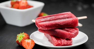Homemade Strawberry Margarita Popsicles