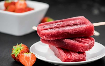 Strawberry Margarita Pops
