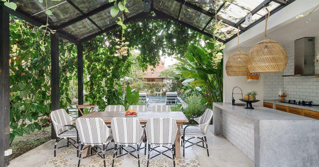 Serene outdoor space