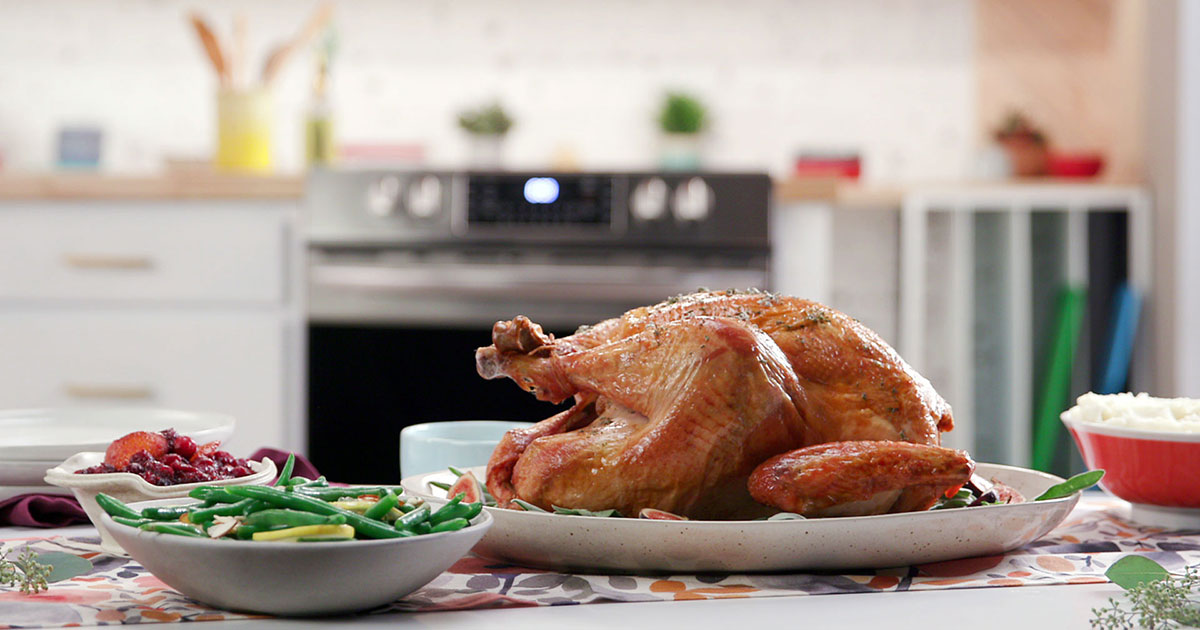 Air Fry Turkey from Frigidaire