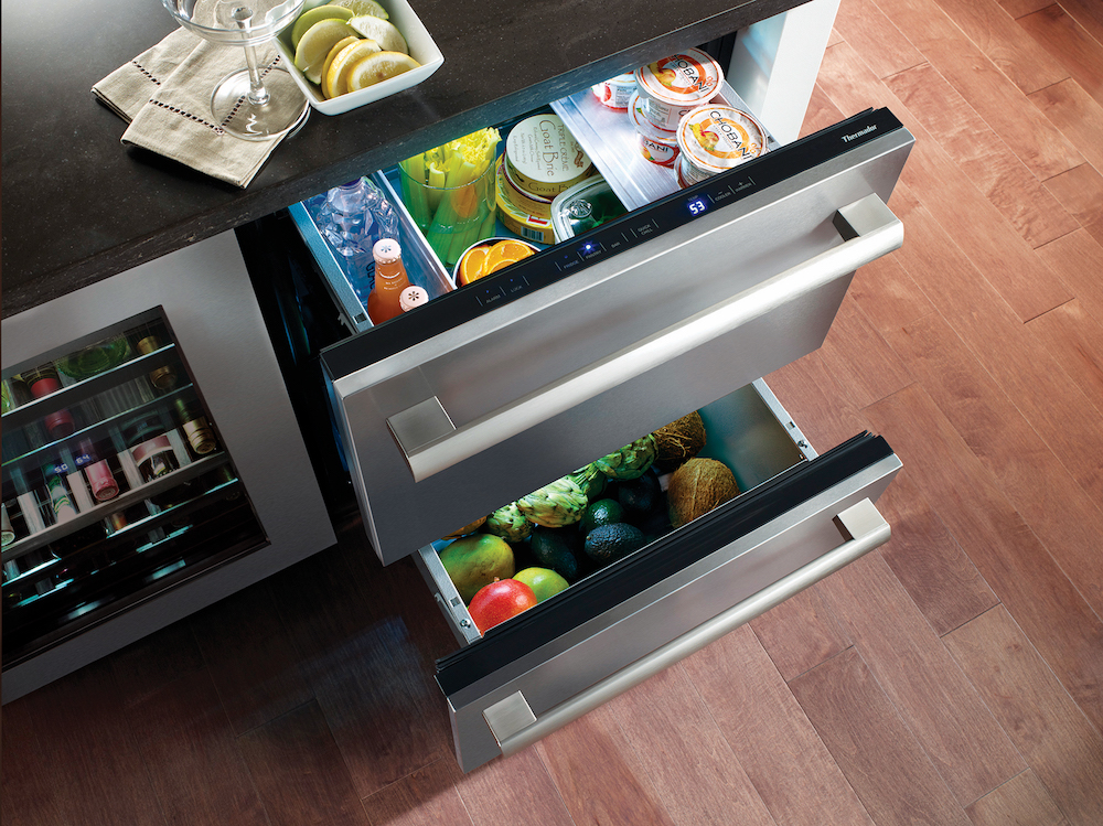 Thermador Double Drawer Refrigerator