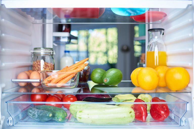 Refrigerator food storage