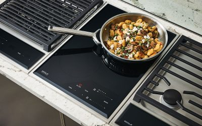 Customizing a Wolf Module Cooktop with a Foodie's Ideal Features