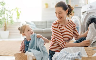 Kids and Laundry: They Just Go Together