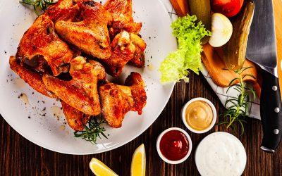Air Fryer Thai Style Chicken Wings